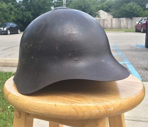Russian M36 Helmet Complete