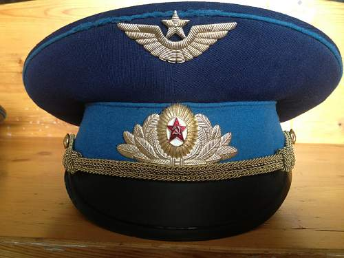 Soviet Air Force Hat (Parade/Walking Out)