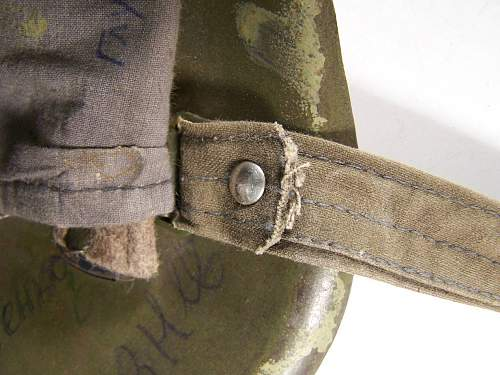 СШ- 40 white camo helmet by ZKO factory, 1941 dated