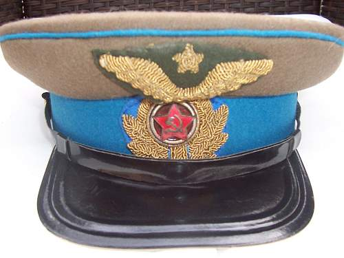 Is This Russian Visor and Overseas Hat WW2 Period?