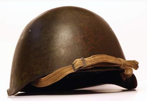 Soviet sh3 rare helmet