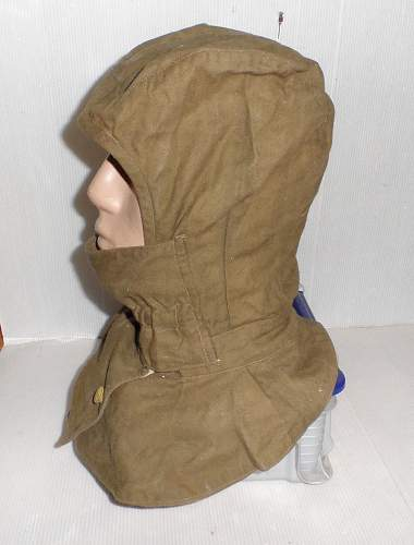 1941 cloth helmet/head cover for your review
