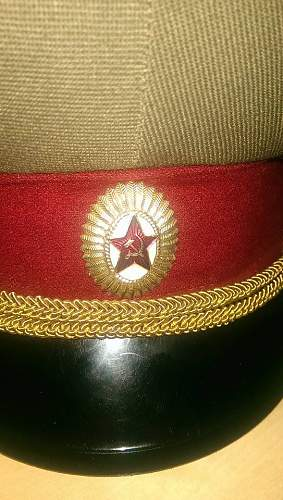 Need information about my Soviet hat.