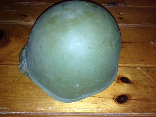 Russian SSH-40 helmet, dating? WW2 post war?