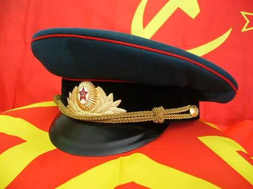 Fake Soviet Visor Cap