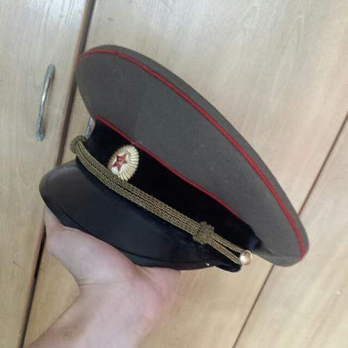 What soviet cap is this and its real too its from ww2 era or cold war era?