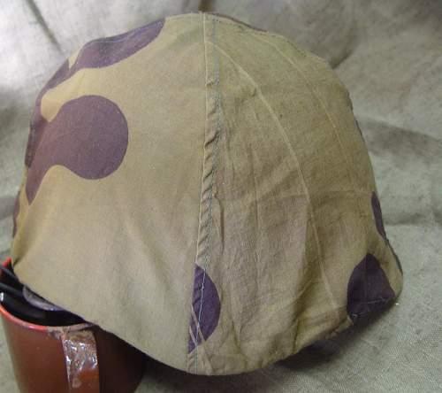 Rary helmet camo cover for SSh36