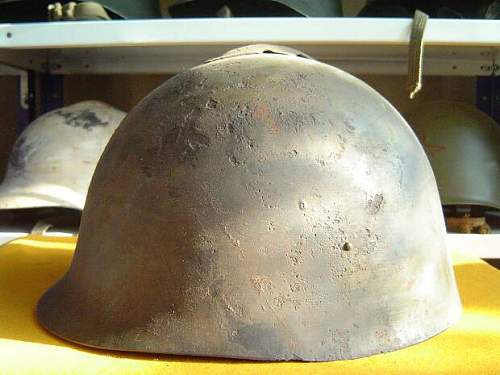 Red Army experimental helmets