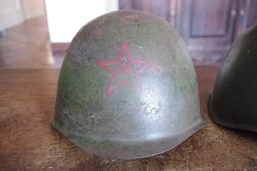 Two helmets SSh39, opinions