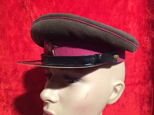 Infantry woolen  soviet  cap 1954