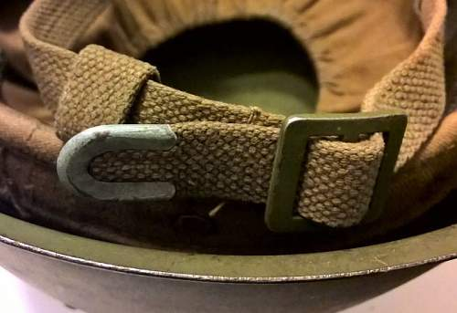 Is this ssh39 helmet original and from wwii ?
