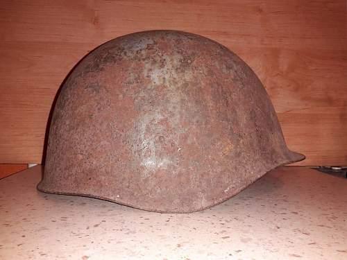 Dug out Ssh 40 helmet for Luftschutz?
