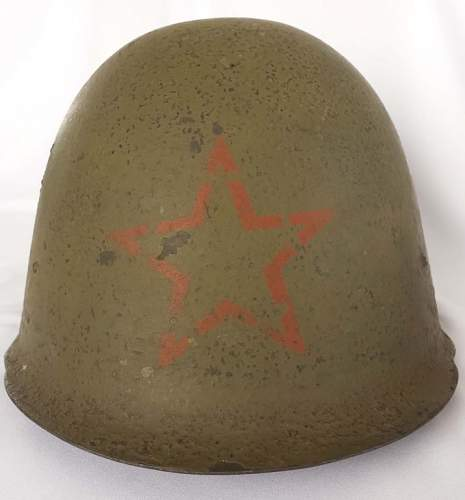 Question about soviet red star on helmet