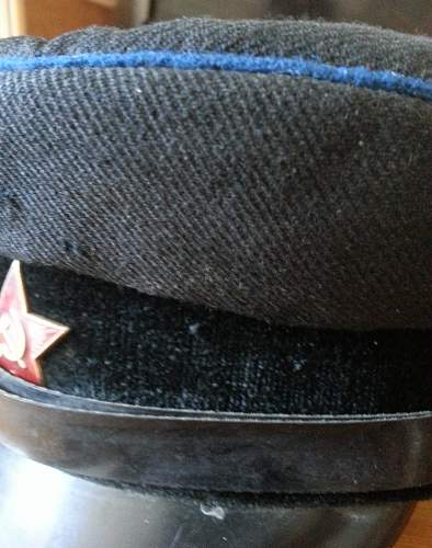 Need help on this soviet visor cap
