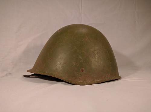 Can someone help me identify this Soviet helmet?