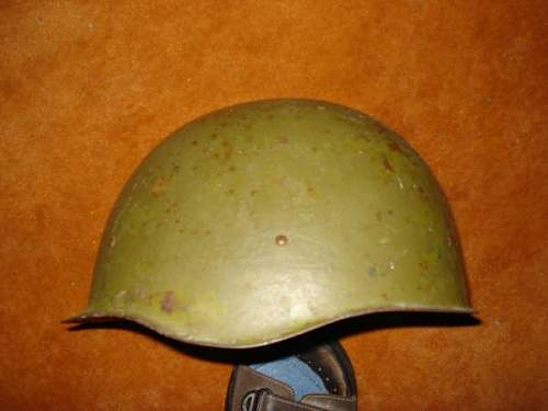 Info about russian helmet and cap