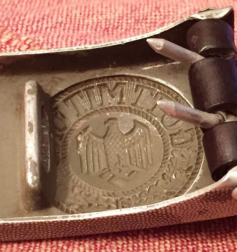 A question on the buckle