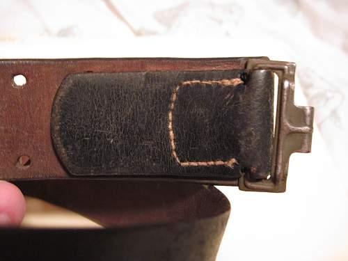 New Belt & Buckle