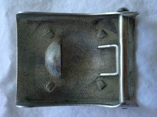 Aluminum Heer Buckle w/Right-Facing Eagle and SA Buckle: Recent Purchases!