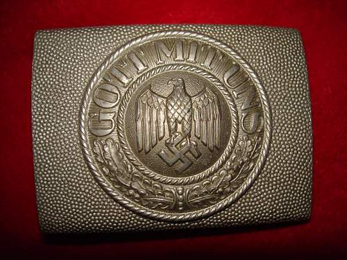 Early Army Buckles