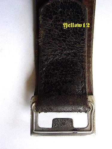Leather Belt Help Please