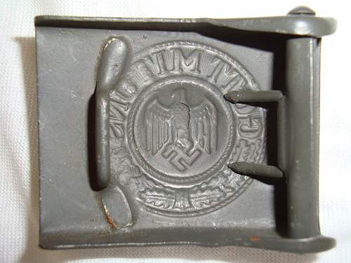 Heer Buckle: Minty Authentic Example or Repro? Maker?