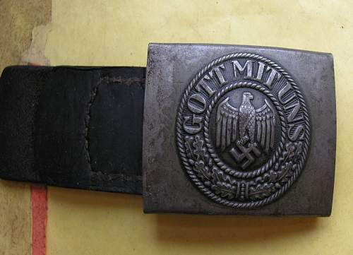 Here in my collection С.T.D.1941.natural belt