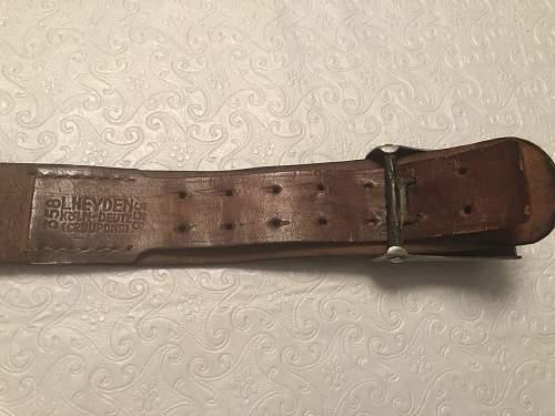 My First Heer Belt Buckle