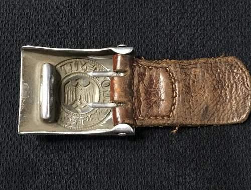 Heer Belt Buckle - 1936