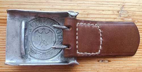 Heer buckle. Original or not?