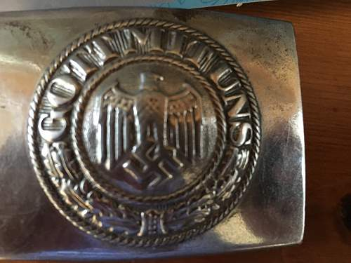 Belt buckle authenticity