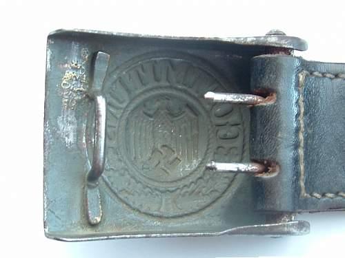 Some of my Wehrmacht / Heer buckles
