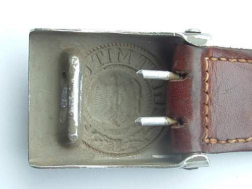 Heer belt buckle found in a bunker in the 1970's