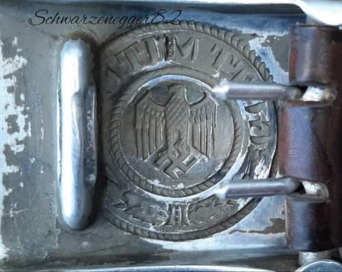 Aluminum buckle Heer