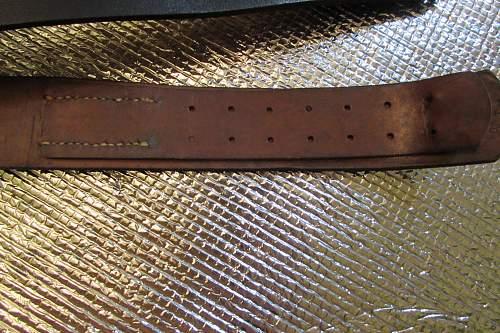 Steel belt buckle N&H 1942
