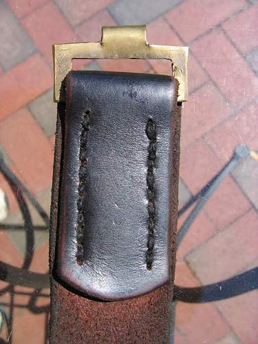 Overhoff & Cie buckle with belt