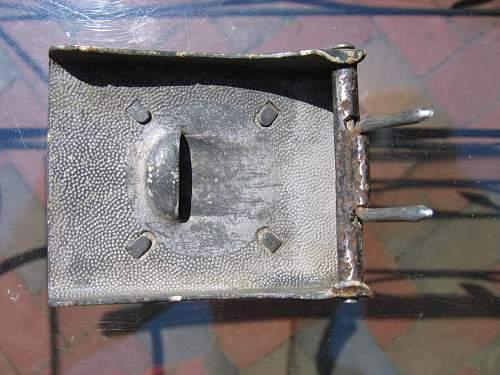 Recent belt/buckle purchase - unmarked buckle/faint marked belt