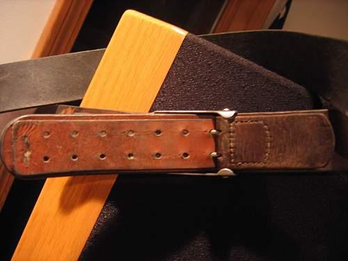 belt&buckle in vet lot