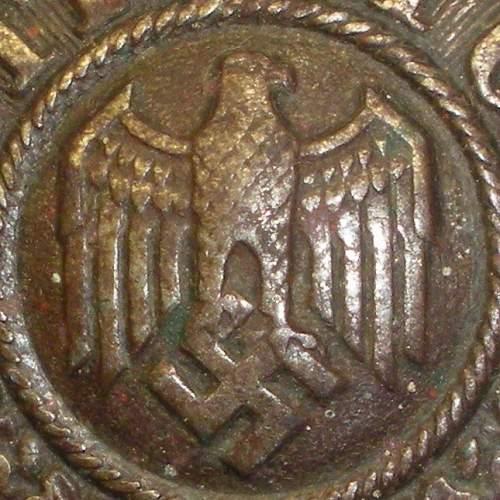 Identify unmarked Heer Koppelschloss?