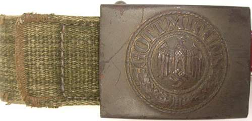 Yet another buckle