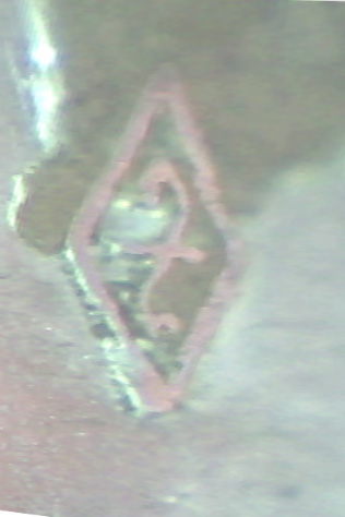 Aluminium denazified Heer buckle - maker?
