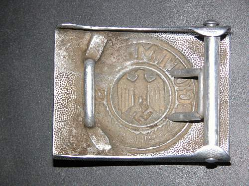 Who made this alu heer buckle?