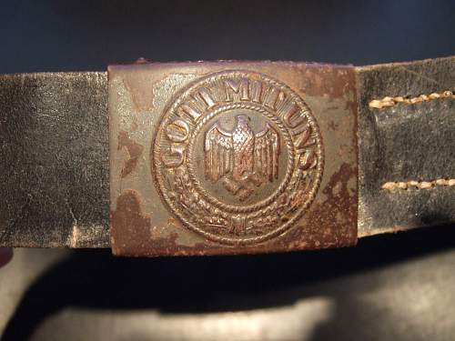 Help Needed ! A bit of advice on this Heer belt and Buckle. A good one?