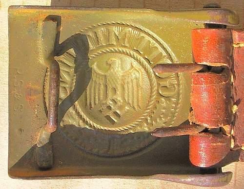 DAK Belt & Buckle