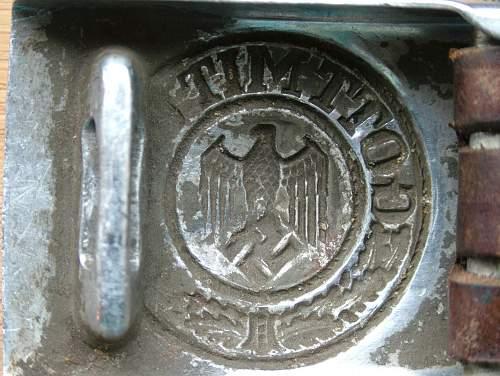 Mystery Aluminium Heer Buckle