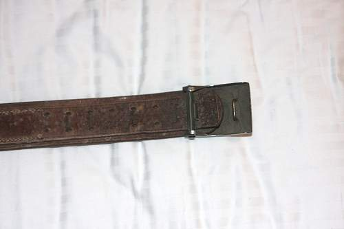 Germany Army Belt and Buckle