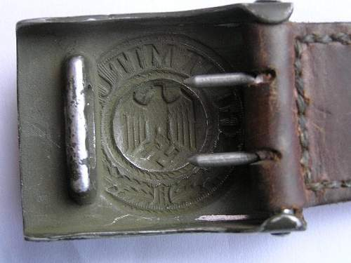 Aluminium Heer buckle F.R.O. - whats your opinion?
