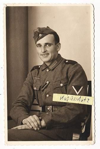 Reichswehr buckle being worn Circa 1942!!!