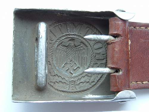 Thoughts on this Heer buckle...