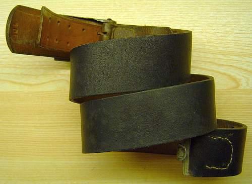 Noelle & Hueck  belt,buckle,tab